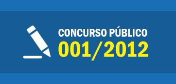 Concurso Público 01/2012