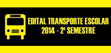 TRANSPORTE ESCOLAR 2014