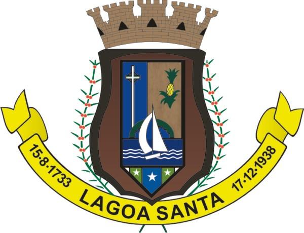Brasão do Município de Lagoa Santa/MG.